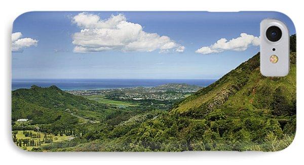 Windward Oahu Phone Case by Charmian Vistaunet
