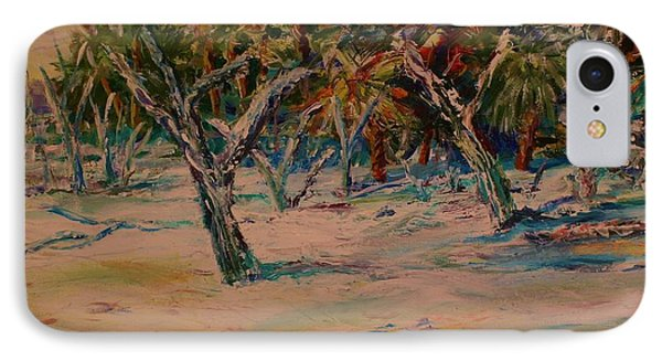 Windy Day At Botany Island IPhone Case
