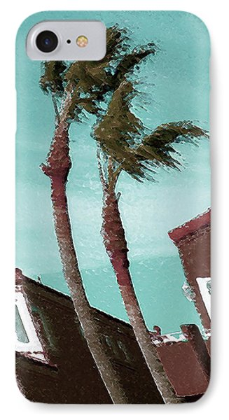 Windy Day By The Ocean  Phone Case by Ben and Raisa Gertsberg