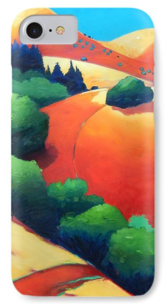 Windy Hill Trip Panel 1 IPhone Case