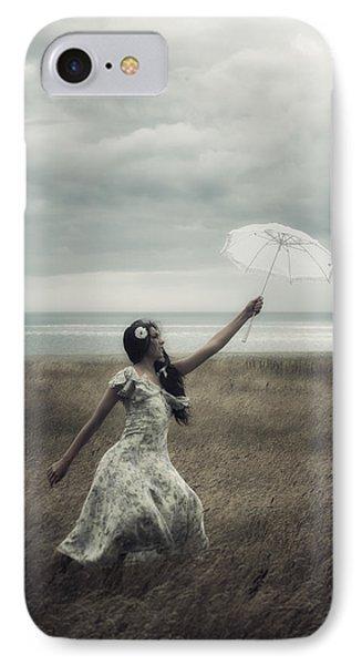 Windy Phone Case by Joana Kruse