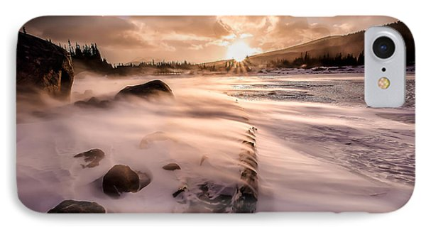 Windy Morning Phone Case by Steven Reed