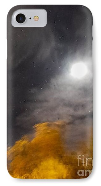 Windy Night IPhone Case by Angela J Wright