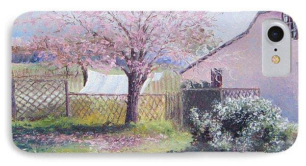 Windy Washing Day IPhone Case by Jan Matson