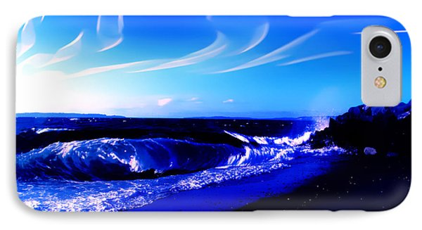 Windy Waterfront At Edmonds Washington IPhone Case