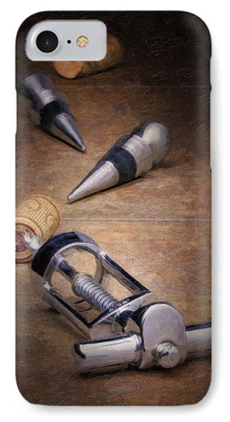 Wine Accessory Still Life IPhone Case by Tom Mc Nemar