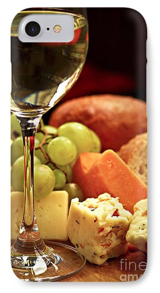 Wine And Cheese IPhone 7 Case by Elena Elisseeva