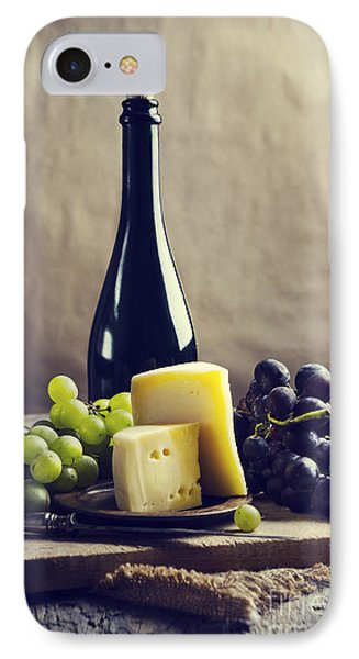 Wine And Cheese IPhone Case by Jelena Jovanovic