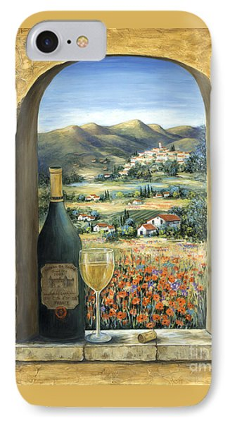 Wine And Poppies IPhone 7 Case