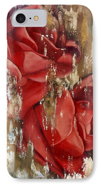 Wine And Roses Phone Case by Rebecca Glaze