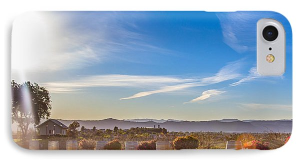 A View For Wine Lovers IPhone Case by Alanna DPhoto