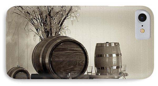 Wine Barrels Phone Case by Alanna DPhoto