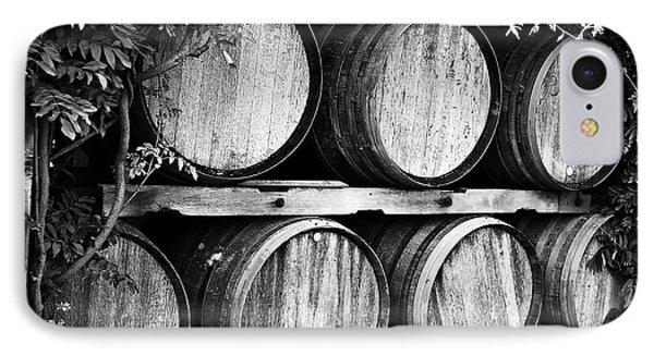 Wine Barrels Phone Case by Scott Pellegrin