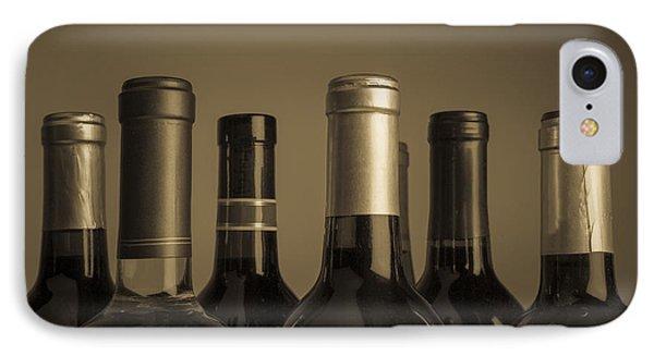 Wine Bottles Phone Case by Diane Diederich