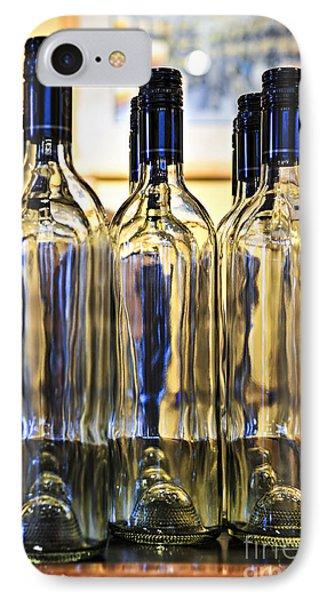 Wine Bottles Phone Case by Elena Elisseeva