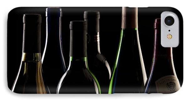 Wine Bottles IPhone Case by Tom Mc Nemar