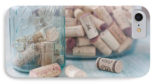 Wine Cork Collection Phone Case by Kay Pickens