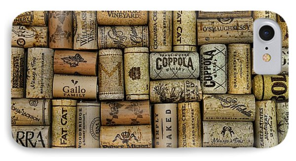Wine Corks After The Wine Tasting Phone Case by Paul Ward