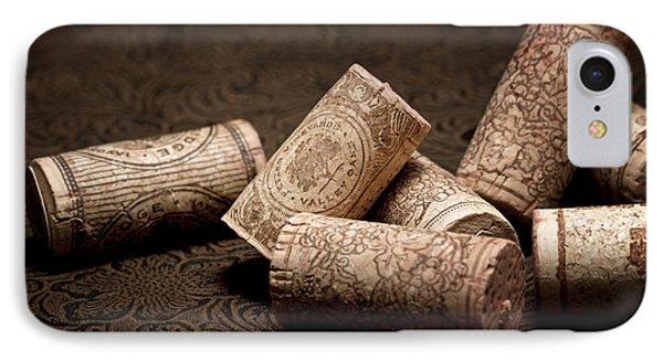Wine Corks Still Life IIi IPhone Case by Tom Mc Nemar
