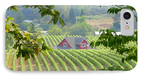 Wine Country IPhone Case by Debra Kaye McKrill