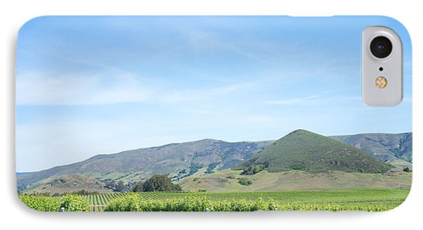 Wine Country Edna Valley IPhone Case by Priya Ghose