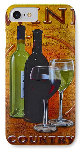 Wine Country Phone Case by Frozen in Time Fine Art Photography