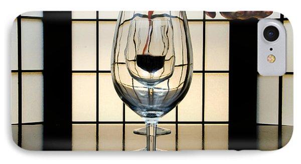 Wine For Three Phone Case by John Debar