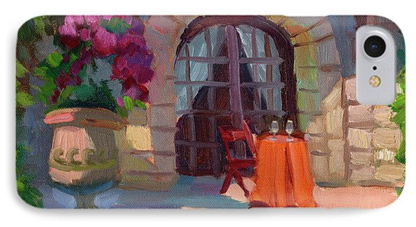 Wine For Two IPhone Case by Diane McClary