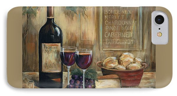 Wine For Two IPhone 7 Case by Marilyn Dunlap