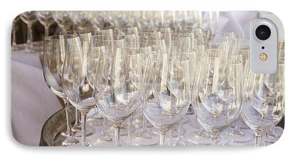 Wine Glasses Phone Case by Dee  Savage