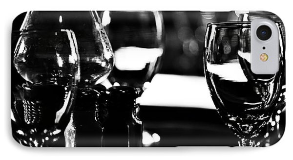 Wine Glasses On Table IPhone Case