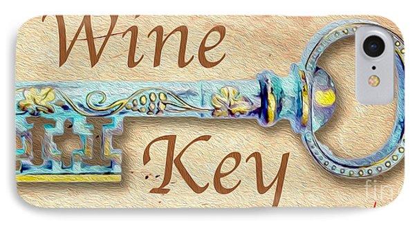 Wine Key Painting  IPhone Case