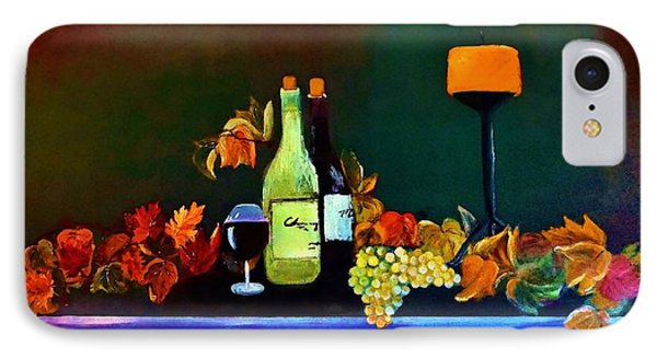 Wine On The Mantel IPhone Case by Lisa Kaiser