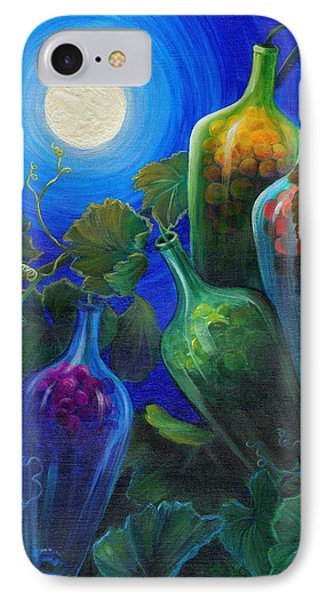 IPhone Case featuring the painting Wine On The Vine by Sandi Whetzel