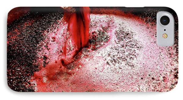 Wine Production IPhone Case by Mauro Fermariello