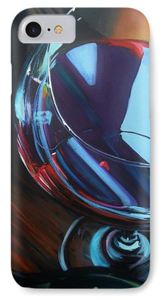 Wine Reflections IPhone Case by Donna Tuten