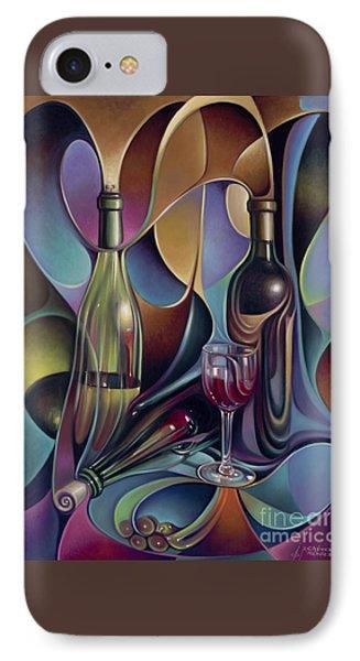 Wine Spirits Phone Case by Ricardo Chavez-Mendez