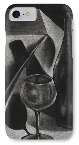 Wine Still Life IPhone Case by Michelle L Bolin