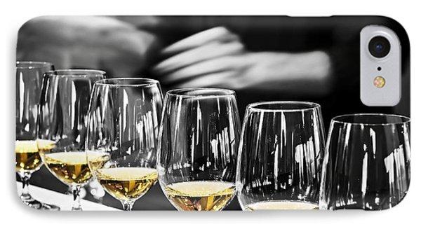 Wine Tasting Glasses IPhone Case by Elena Elisseeva