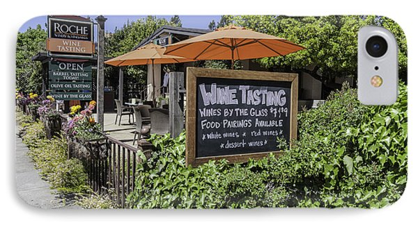 Wine Tasting Phone Case by Karen Stephenson