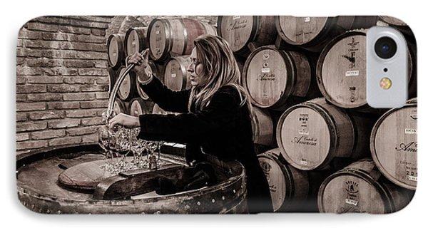 Wine Tasting IPhone Case by Linda Villers
