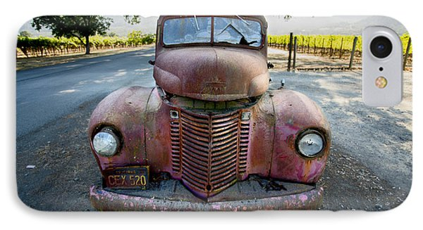 Wine Truck IPhone Case by Jon Neidert