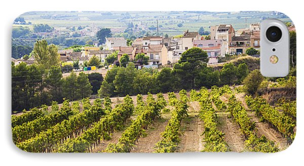 Winemaking In The Largest Wine Region IPhone Case