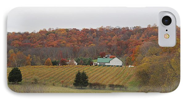 Winery In Virginia At Fall Phone Case by Renee Braun