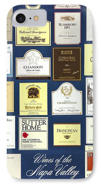 Wines Of The Napa Valley - Series 2 IPhone Case