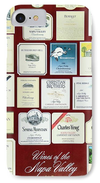 Wines Of The Napa Valley - Series 3 IPhone Case