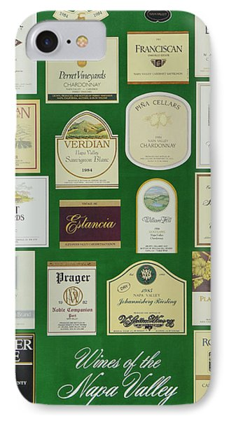Wines Of The Napa Valley - Series 4 IPhone Case