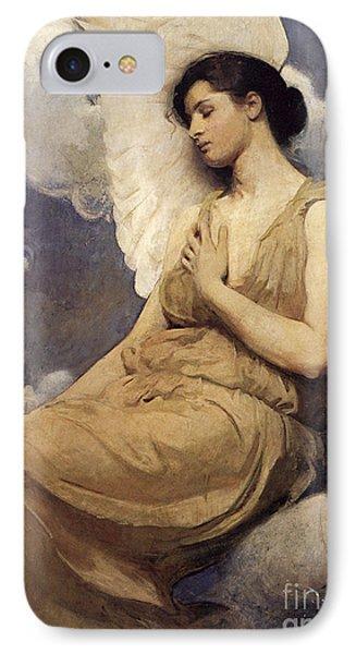 Winged Figure IPhone Case