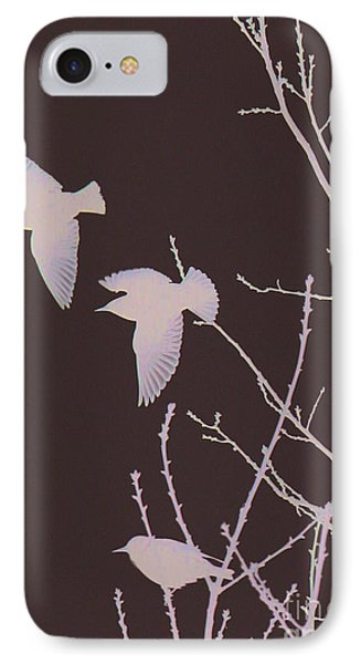 IPhone Case featuring the photograph Winged Ones by Jeanette French