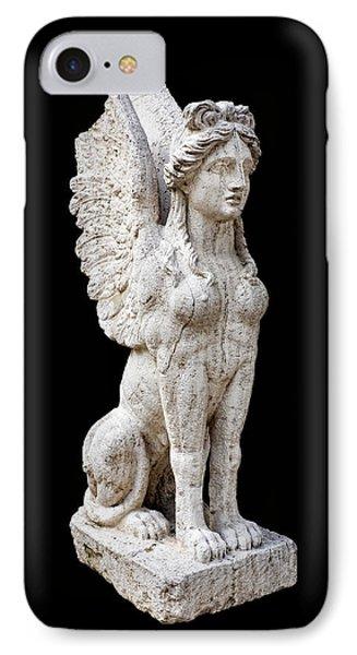 Winged Sphinx Phone Case by Fabrizio Troiani